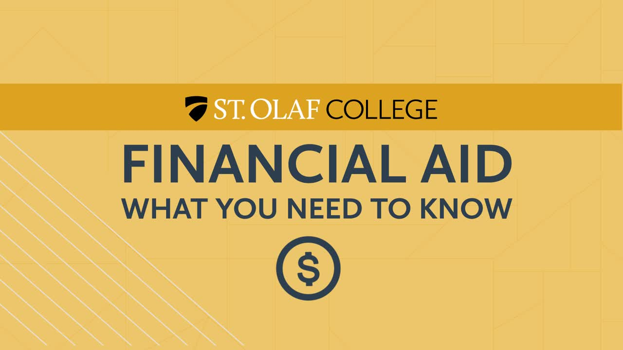 Financial Aid - What You Need to Know