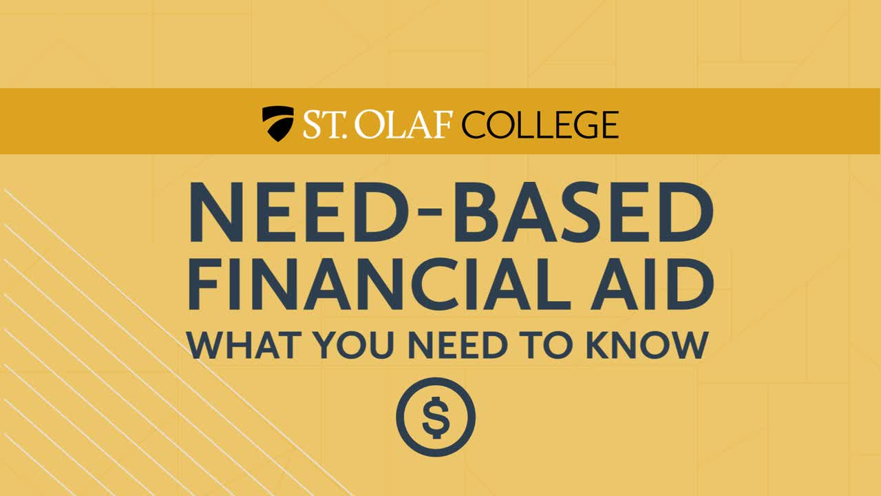 Need-Based Financial Aid - What You Need to Know