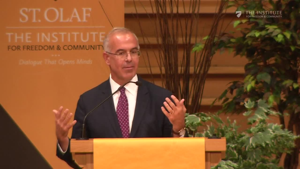 David Brooks and The Institute for Freedom and Community