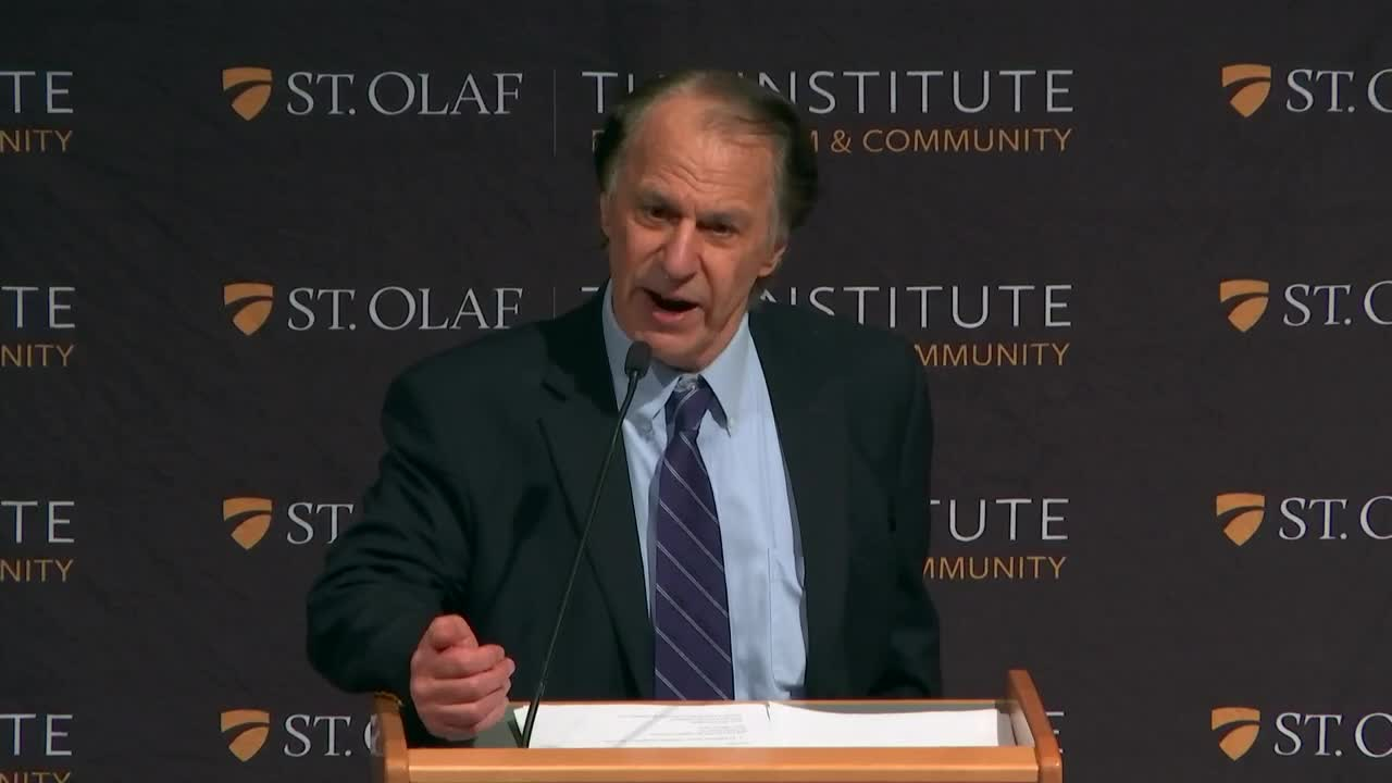 Institute for Freedom and Community Lecture